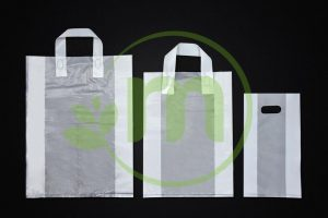 SOFT LOOP HANDLE PLASTIC BAG Image
