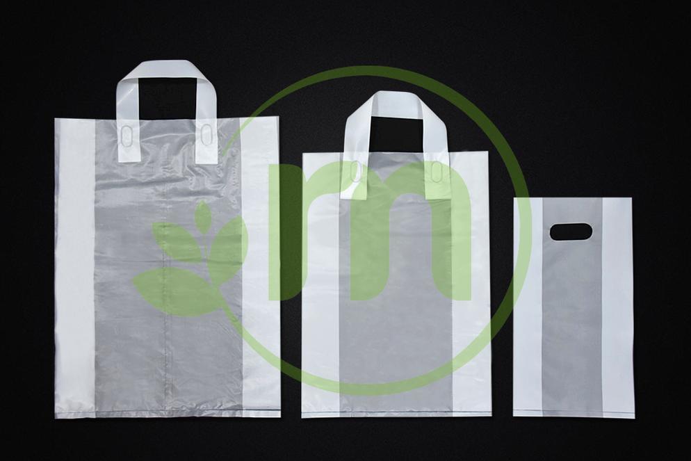 SOFT LOOP HANDLE PLASTIC BAG Image