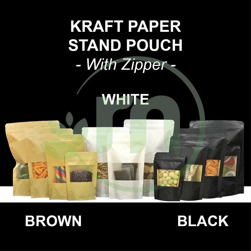 KRAFT PAPER STAND POUCH Image
