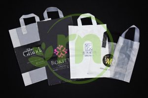 PRINTED PLASTIC BAG ( SOFT LOOP HANDLE ) Image